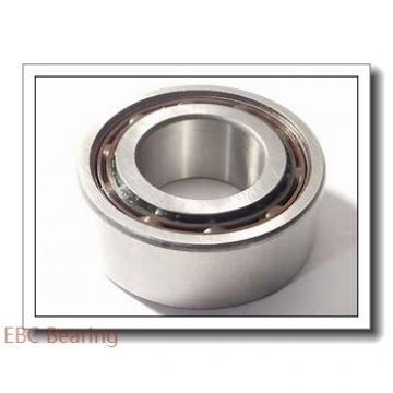 0.875 Inch | 22.225 Millimeter x 1.438 Inch | 36.525 Millimeter x 0.756 Inch | 19.202 Millimeter  EBC GEZ 014 ES  Spherical Plain Bearings - Radial