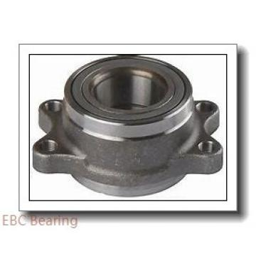 EBC 1630 ZZ  Single Row Ball Bearings