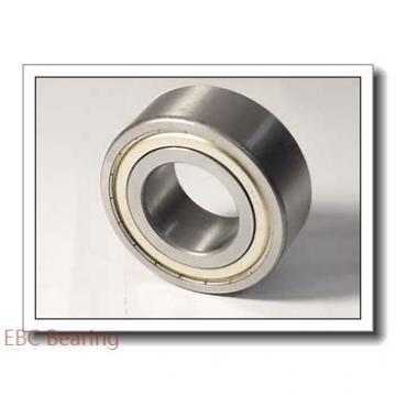 0.394 Inch | 10 Millimeter x 1.181 Inch | 30 Millimeter x 0.563 Inch | 14.3 Millimeter  EBC 5200  Angular Contact Ball Bearings