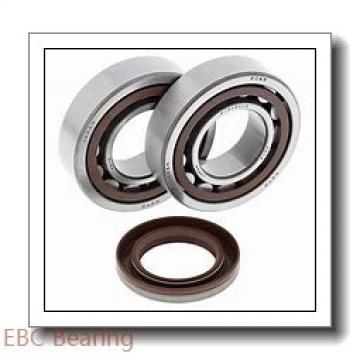 EBC 1654 ZZ  Single Row Ball Bearings